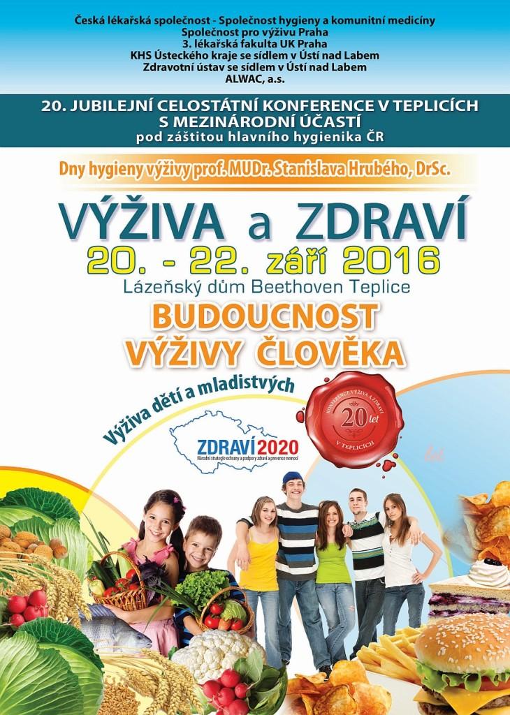 Konference Výživa a zdraví 2016 Teplice