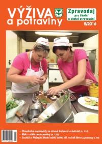 Výživa a potraviny – 5/2016