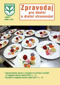 Zpravodaj pro školní a dietní stravování – 1/2017