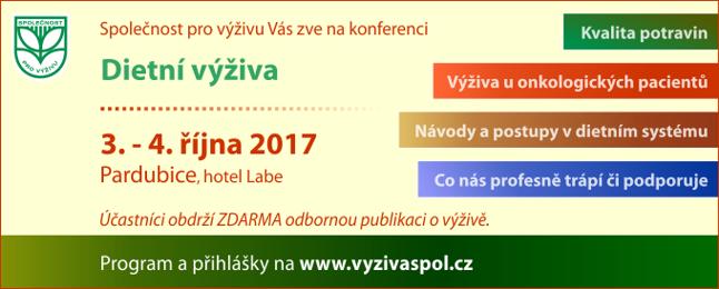 pozvánka - konference Dietní výživa 2017