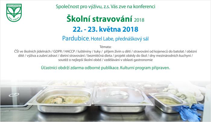Konference Školní stravování 2018
