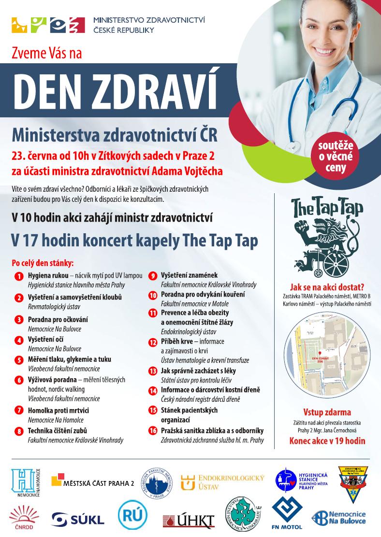 Den zdraví Ministerstva zdravotnictví ČR