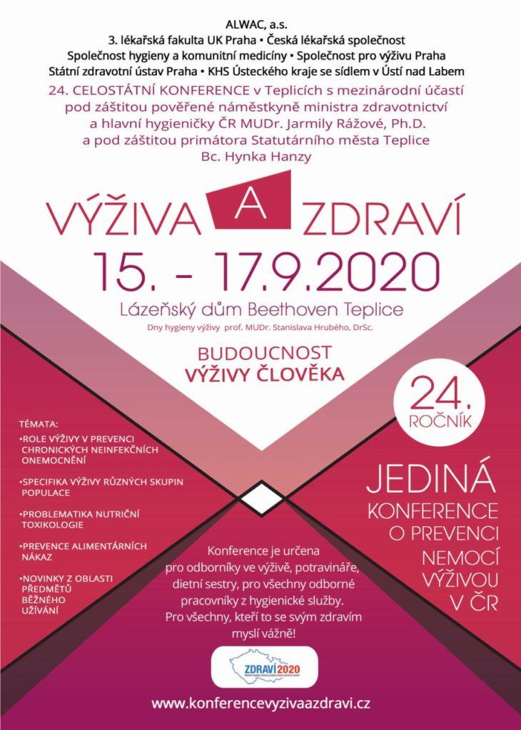 Konference Výživa a zdraví 2020