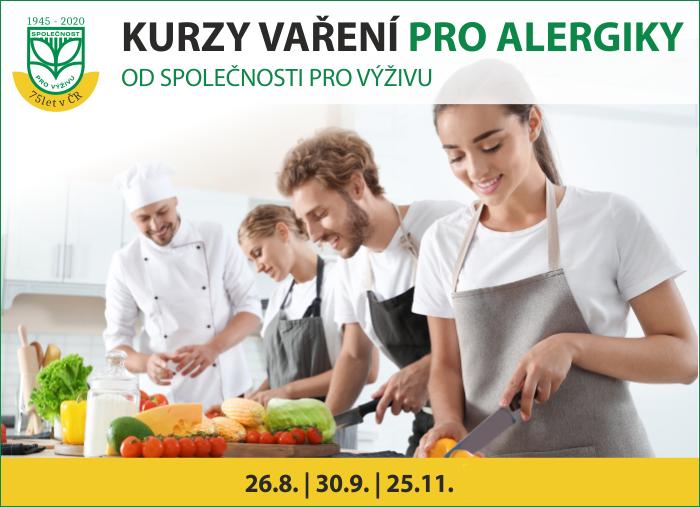 Kurz vaření pro alergiky od Společnosti pro výživu