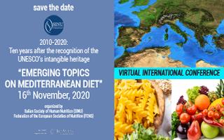 Emerging topics on mediterranean diet